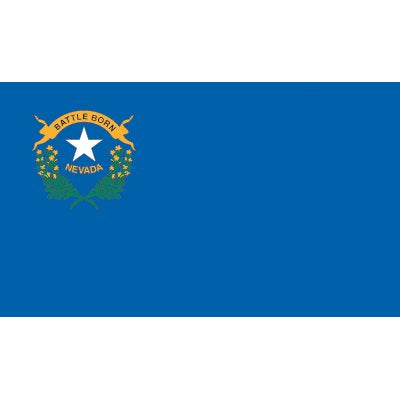 Nevada Flag - Industrial Polyester