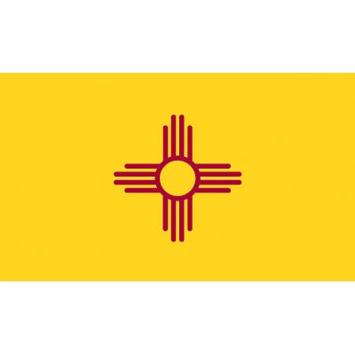 New Mexico Flag - Industrial Polyester