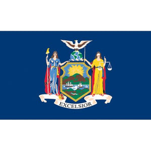 New York Flag - Industrial Polyester