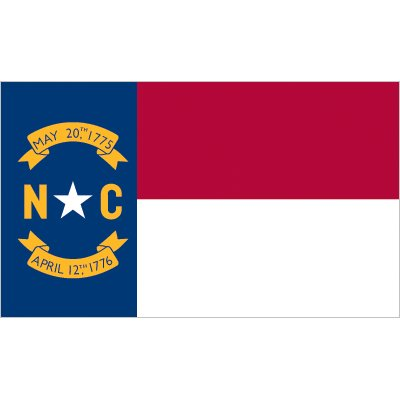 North Carolina Flag - Industrial Polyester