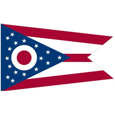 Ohio Flag - Industrial Polyester
