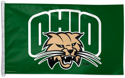 Ohio University 3x5ft Flag