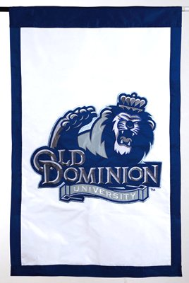 Old Dominion University House Sewn Flag 2 Sided
