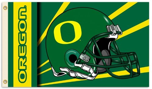 University of Oregon 3x5ft Flag 2 Sided