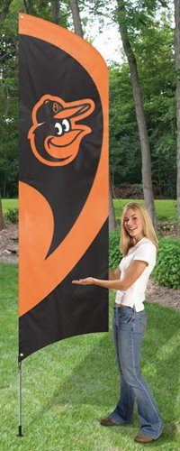 Baltimore Orioles 8ft Feather Flag Kit