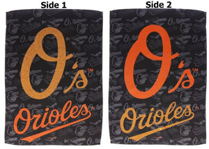 Baltimore Orioles Garden Flag 2 Sided