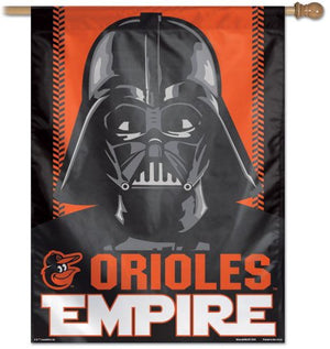 Baltimore Orioles Empire Darth Vader House Flag