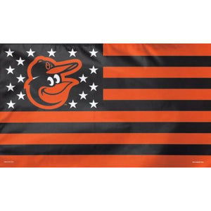 Baltimore Orioles Nation 3x5' Deluxe Flag with Grommets - FlagsOnline.com by CRW Flags Inc.
