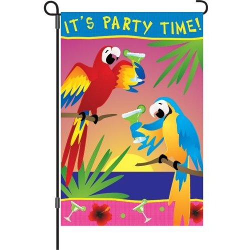 It's Party Time - Garden Flag