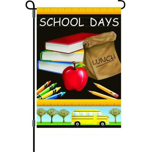 School Days - Garden Flag