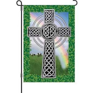 Celtic Cross - Garden Flag