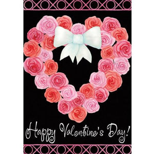 Valentine Wreath - House Flag