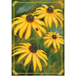 Black-Eyed Susans - House Flag - FlagsOnline.com by CRW Flags Inc.