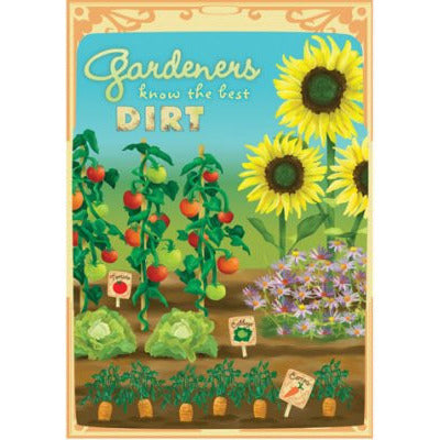 Gardeners Know Dirt - House Flag - FlagsOnline.com by CRW Flags Inc.