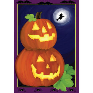 Jack O'Lanterns - House Flag - FlagsOnline.com by CRW Flags Inc.