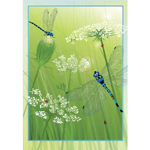Lacey Dragonflies - Garden Flag - FlagsOnline.com by CRW Flags Inc.