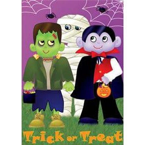Trick or Treat - House Flag - FlagsOnline.com by CRW Flags Inc.