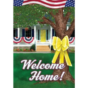 Welcome Home - House Flag - FlagsOnline.com by CRW Flags Inc.