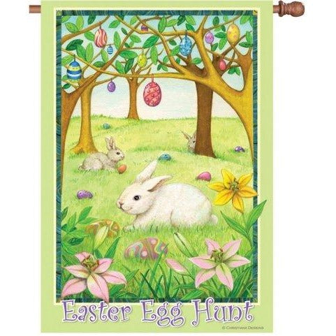 Easter Egg Hunt - House Flag