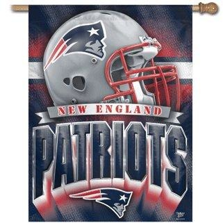 New England Patriots House Flag