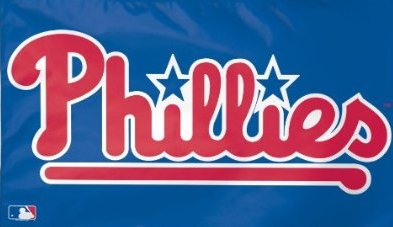 Philadelphia Phillies 3x5ft Flag