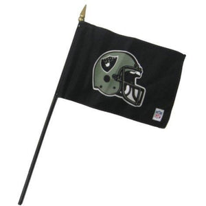 Oakland Raiders 4x6in Stick Flag