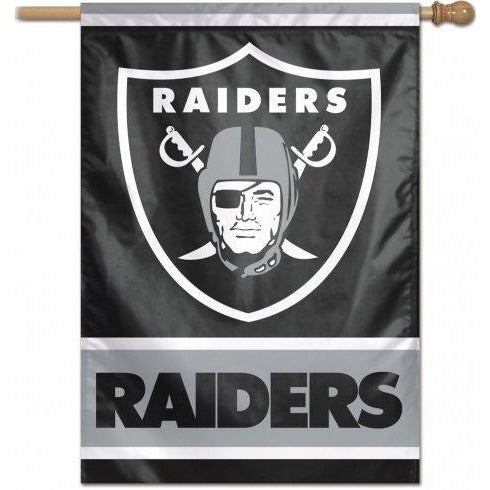 Oakland Raiders House Flag