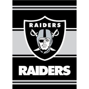 Oakland Raiders House Flag 2 Sided