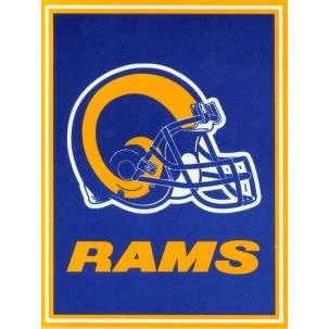 St Louis Rams House Flag