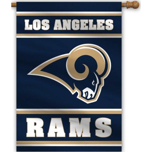 Los Angeles Rams House Flag 2 Sided