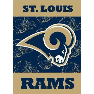 St Louis Rams House Flag 2 Sided