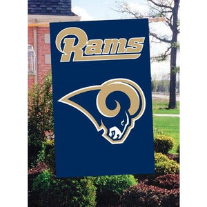 St Louis Rams House Sewn Flag 2 Sided