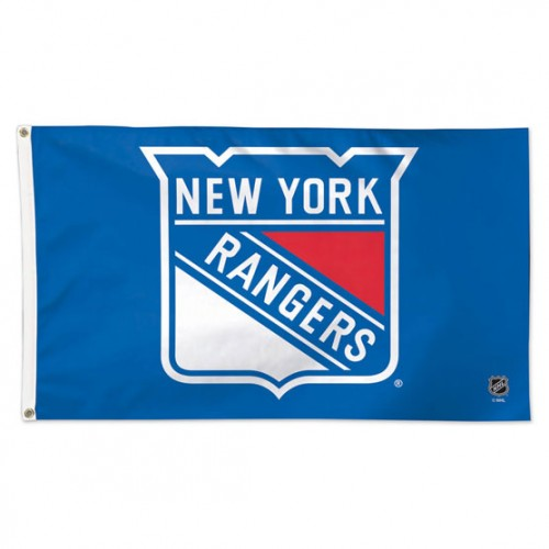 New York Rangers 3x5ft Deluxe Flag