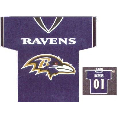Baltimore Ravens Jersey House Flag 2 Sided