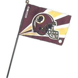 Washington Redskins 4x6in Stick Flag