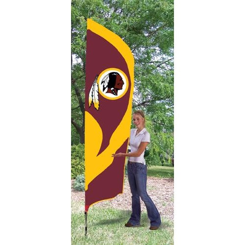 Washington Redskins 8ft Feather Sewn Flag Kit