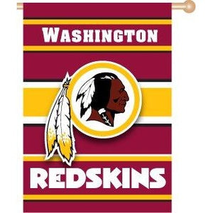 Washington Redskins House Flag 2 Sided