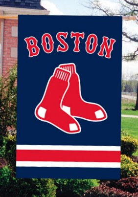 Boston Red Sox House Flag 2 Sided