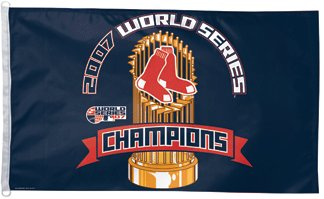Boston Red Sox 2007 World Series Champs 3x5ft Flag