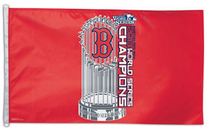 Boston Red Sox 2013 World Series Champs 3x5ft Deluxe Flag