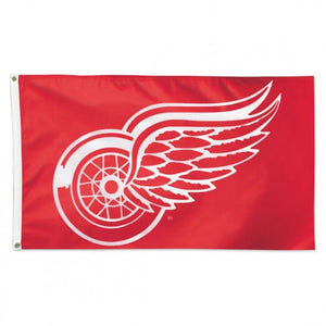 Detroit Redwings 3x5ft Deluxe Flag