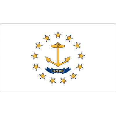 Rhode Island Flag - Industrial Polyester
