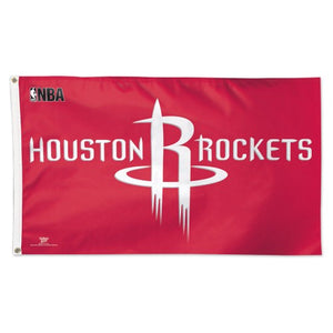 Houston Rockets 3x5ft Deluxe Flag