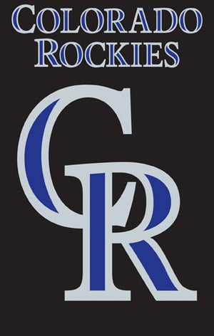 Colorado Rockies House Flag 2 Sided