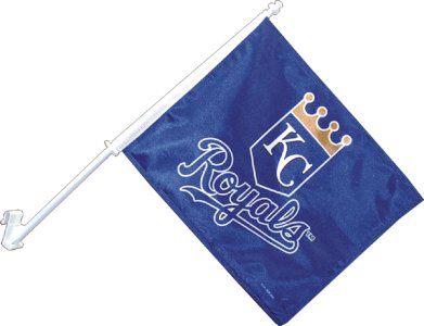 Kansas City Royals Car Flag 2 Sided