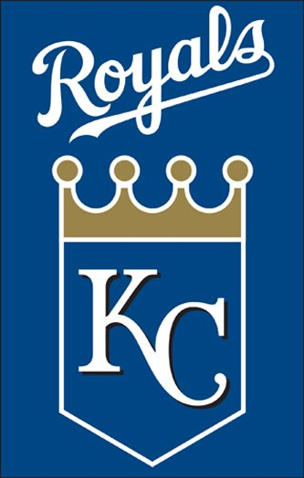 Kansas City Royals House Flag 2 Sided