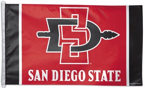 San Diego State University 3x5ft Flag