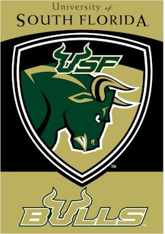 University of South Florida House Flag 2 Sided