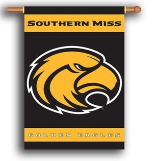 University of Southern Mississippi House Flag 2 Sided