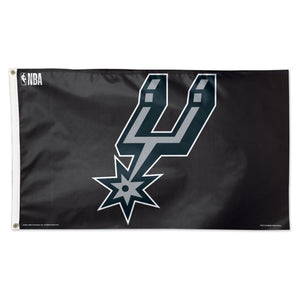 San Antonio Spurs 3x5ft Deluxe Flag